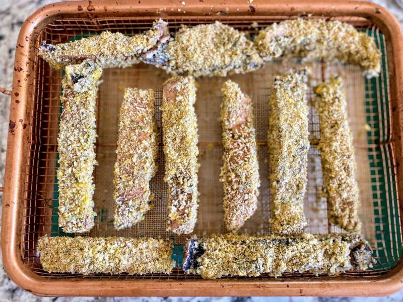 Portobello Fries Baked