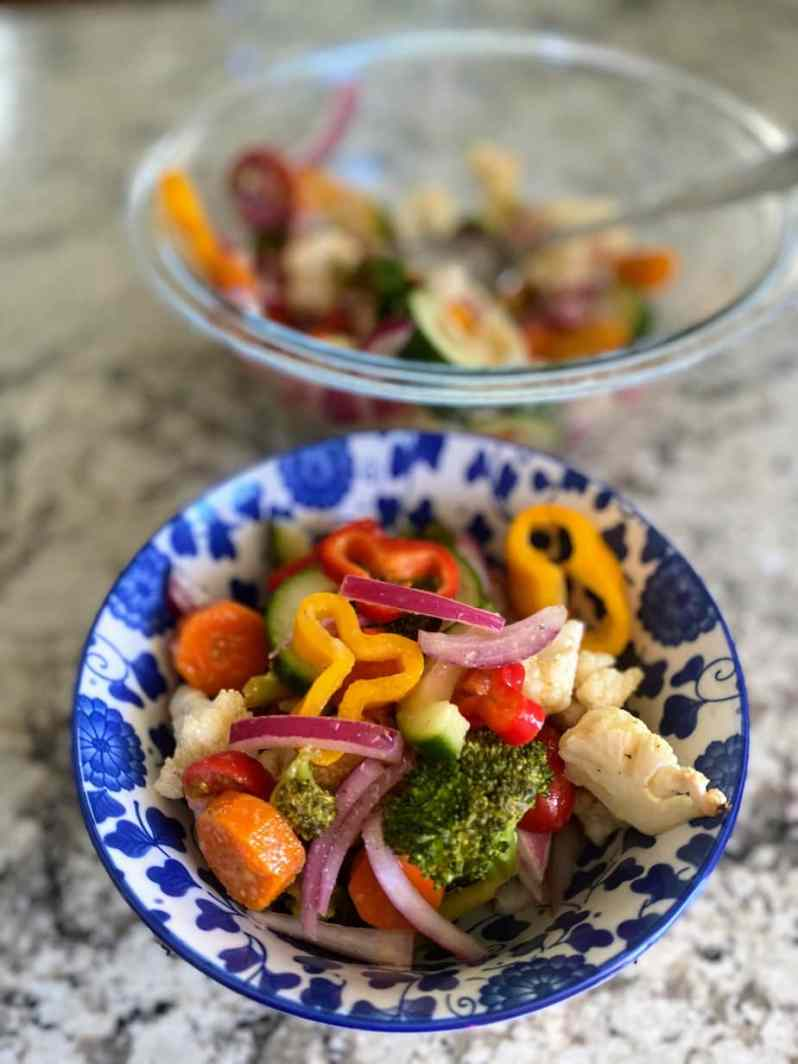 marinated vegtable salad recipe