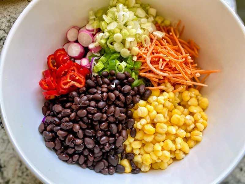 southwest coleslaw ingredients