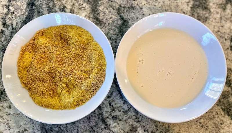 Dreading bowls mushroom parmesan