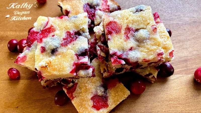 cranberry bars recipe