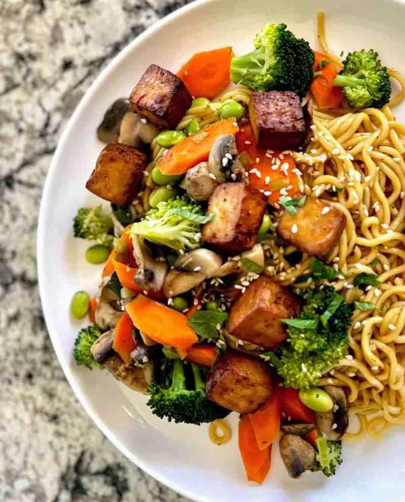 Easy Teriyaki Noodles