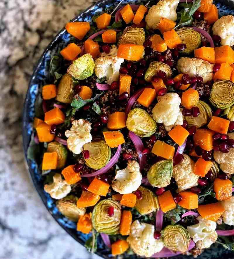Butternut squash salad recipe