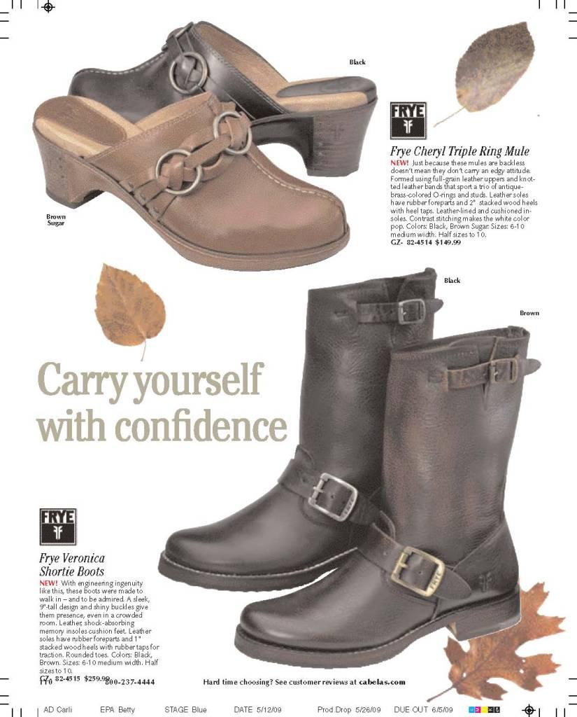 Fry Footwear and Headline