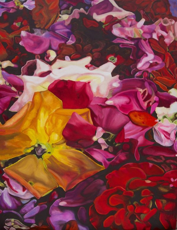ron harris art red roses yellow roses fine art floral