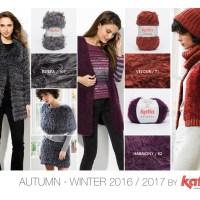 Herbst - Winter 2016 / 2017 Fashion Trends die Sie selbst stricken können mit unseren Garnen und Anleitungshefte
