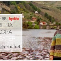 Craft Lovers ♥ Pulli Ribeira Sacra, gestrickt aus Katia Lincys von The Single Crochet