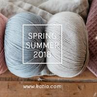 14 Garn-Neuheiten von Katia für die Saison Frühjahr/Sommer 2018 - verlieb dich und gewinne einen ganz besonderen Preis