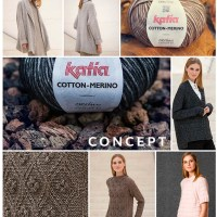Katia Concept: 45 handknitted designs with natural yarns