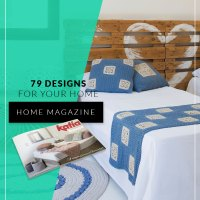 Home Magazine: 79 knit, crochet and macramé patterns to decorate your Home