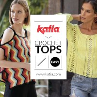 10 easy crochet tops for women: basic, classic, openwork, floral, zigzag...