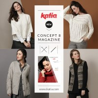News Katia Winter 2019-2020: Discover the new magazine and 6 new Concept yarns by Katia