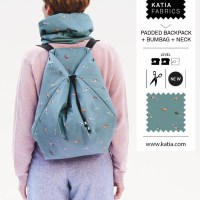 Sewers, knitters and crocheters, take note of our new duffle bag, backpack and mini yarn holder bag patterns
