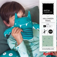 Let's sew with the new Halloween collection: how to make a monster cushion with sounds