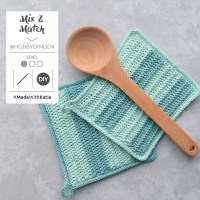 Mix & Match your own crochet pot holders with this free pattern by @hobbydingen
