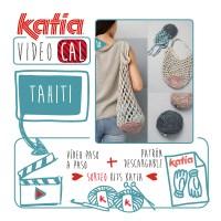 Haz a ganchillo una práctica bolsa de red plegable con Katia Tahiti ¡Un kit para tejer el próximo VideoKAL puede ser tuyo!