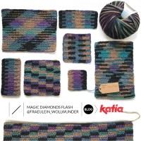 Tutorial Planned Color Pooling por Fräulein Wollwunder: Haz a crochet un gorro diferente con sólo 1 ovillo