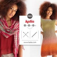 11 patrones gratuitos para tejer tops, vestidos, fulares y chales a punto y crochet con solo 1, 2 o 3 ovillos