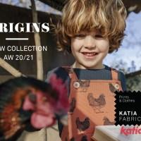 ORIGINS: descubre la nueva colección Katia Fabrics Otoño Invierno 2020 / 2021 inspirada en los cuentos infantiles