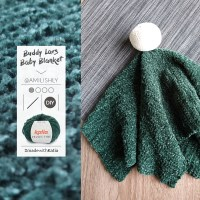 Manta de apego con lana tacto terciopelo muy fácil de hacer con el patrón gratuito de Amilishly