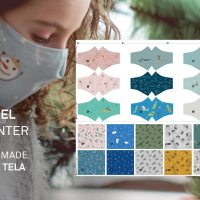 Ideas fáciles y rápidas para Navidad: Paneles de cojines y mascarillas