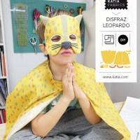 Cómo coser un disfraz de leopardo para niños paso a paso