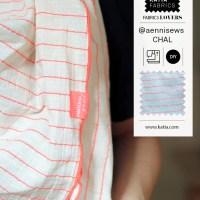 Chal de tela muy fácil con los nuevos tejidos Sari por Änni Sews