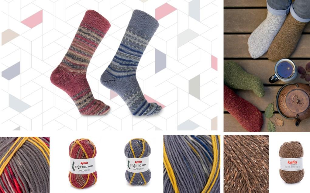 laines katia automne hiver 2018 socks