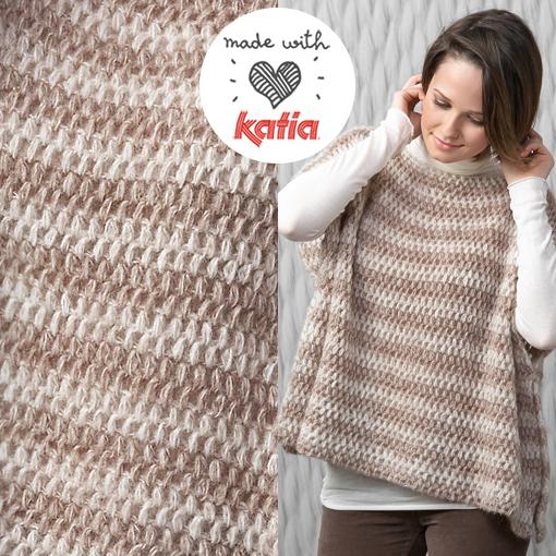 patron-poncho-crochet-rayas-horizontales