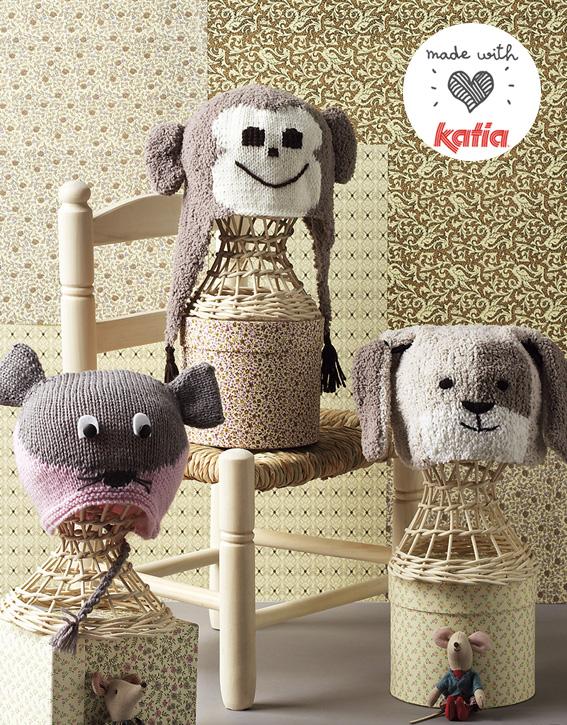 bonnet-chien-souris-singe-bebe-tricot