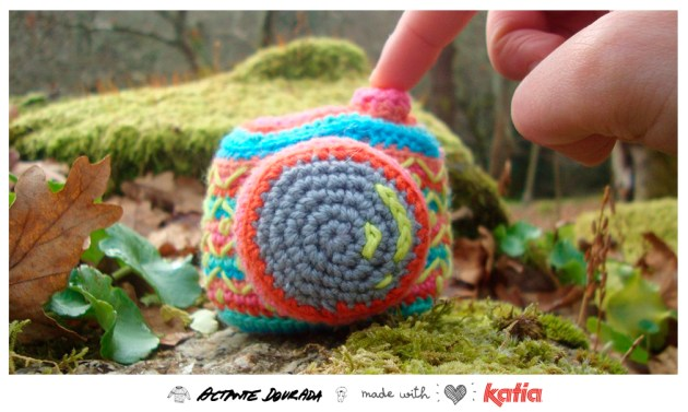 Appareil photos crochet