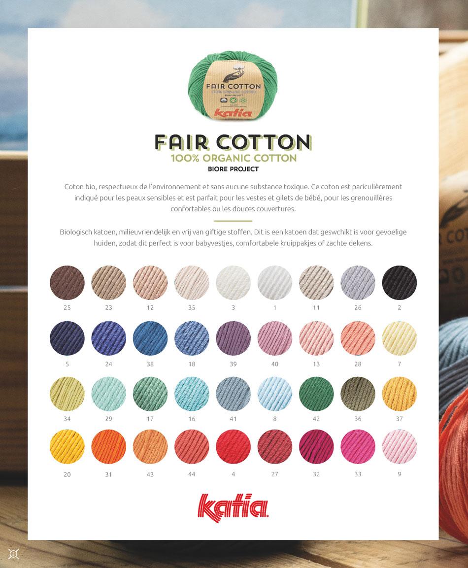 fair cotton coton bio gots