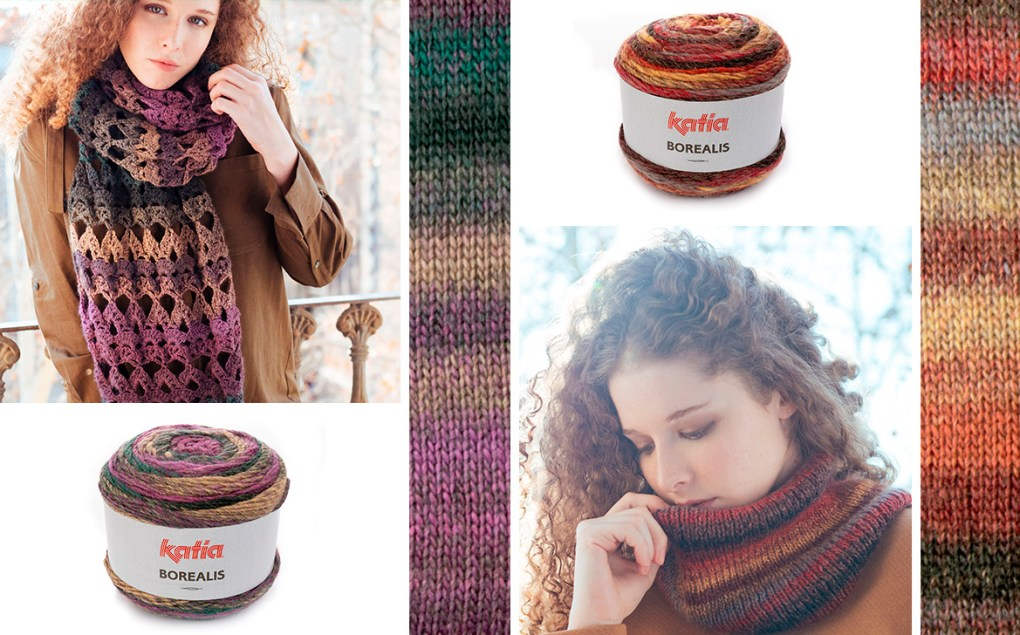 laines katia automne hiver 2018 Borealis