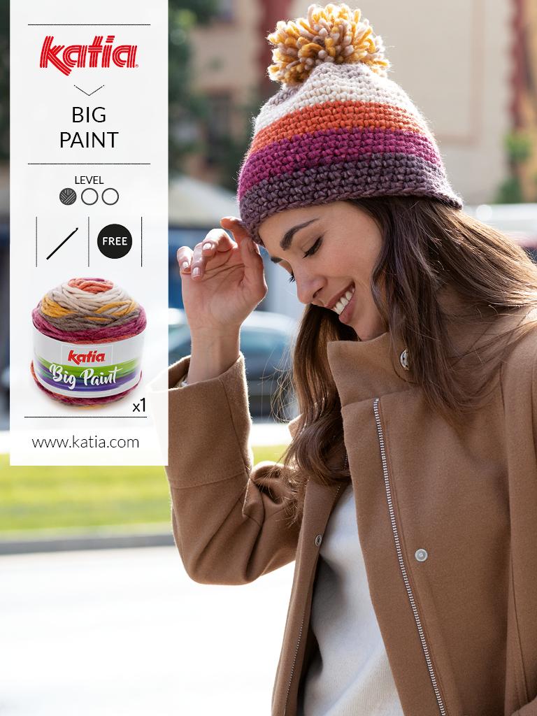bonnet 1 pelote patron gratuit