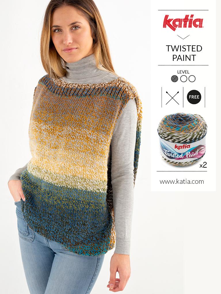 pulls faciles au tricot et crochet sans manche