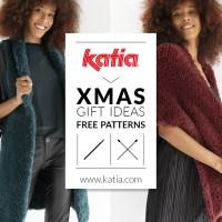 Téléchargez 20 patrons gratuits faciles à tricoter et crocheter et offrez du fait main à toute la famille pour Noël