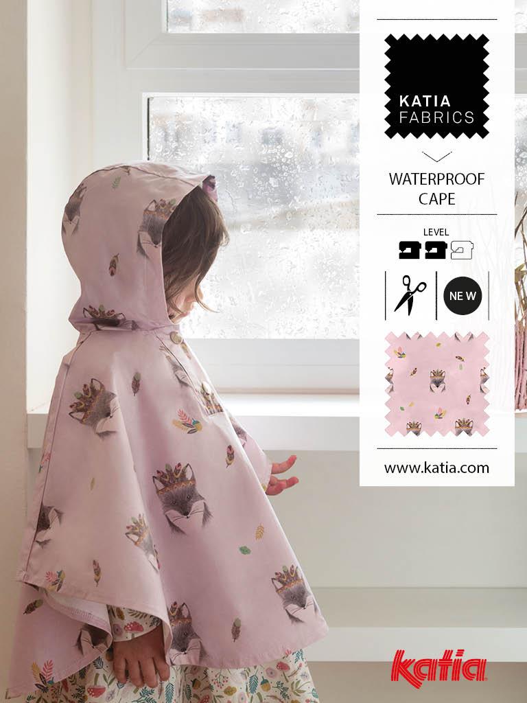 nouveaux tissus Katia Fabrics lluvia