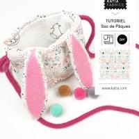 Tutoriels pour enfants: Petit sac pour les oeufs de Pâques 🥚