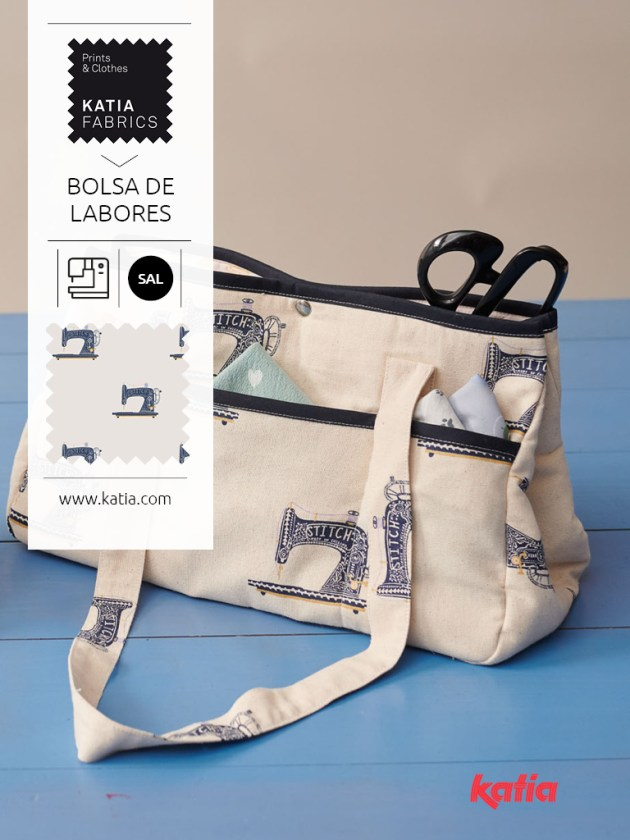 SAL Katia Fabrics sac à ouvrage