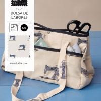 SAL Sac à ouvrage : cousons ensemble ce sac multiusage à la fois pratique et très joli dans notre groupe Sew-Along Katia !