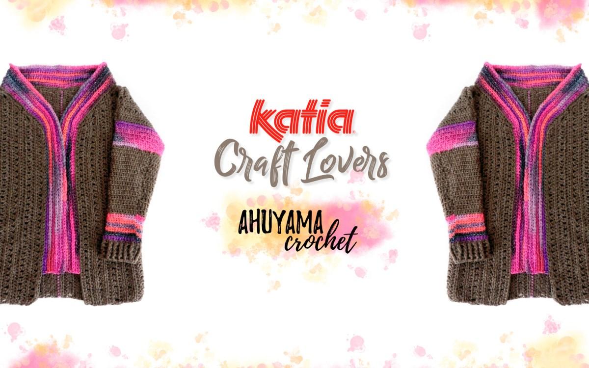 Comment crocheter un manteau différent grâce au superpatron et au tuto vidéo d'Ahuyama Crochet