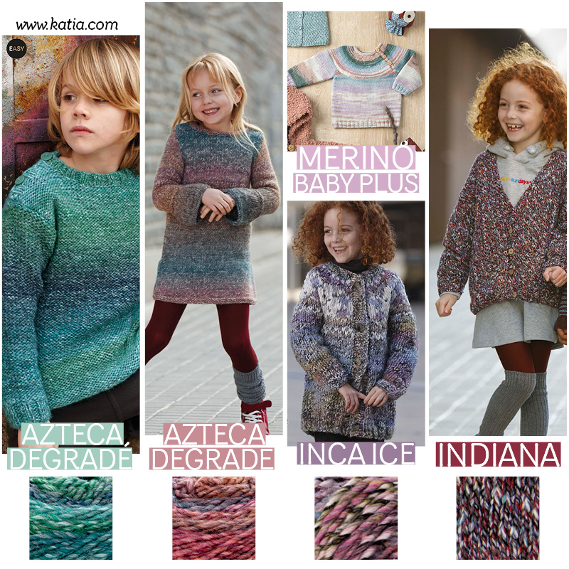 patrons au tricot bébé_gradient