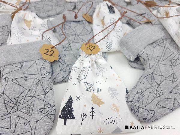 calendrier-avent-tissu-couture détail