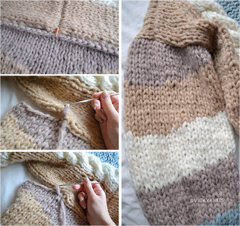 tricot pull manches