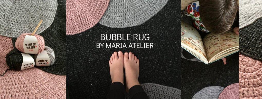 patron crochet tapis bubble - 1