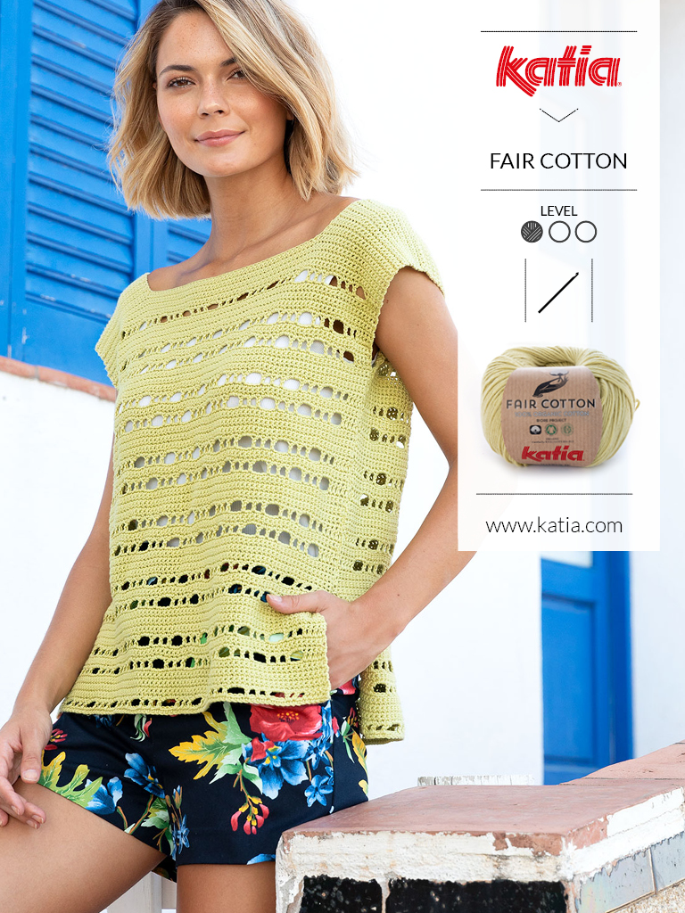 10 tops crochet fair cotton