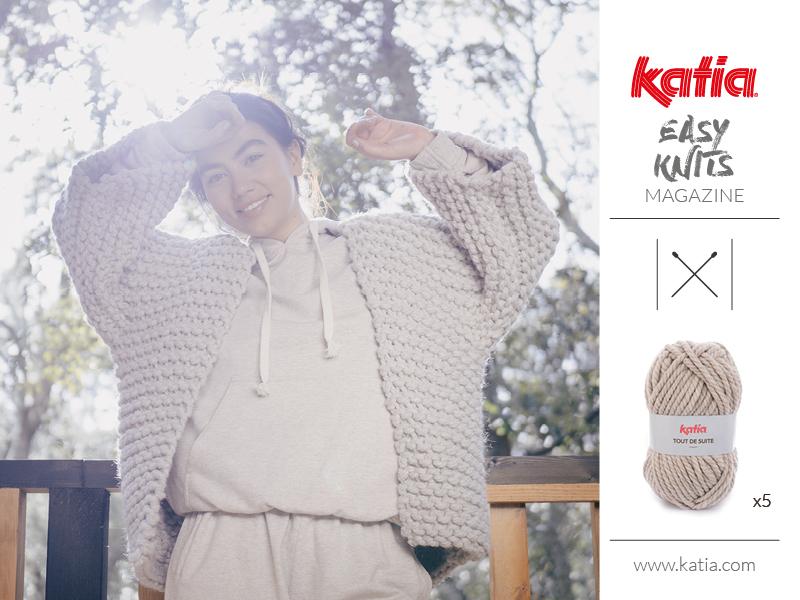 tricot facile laine chunky