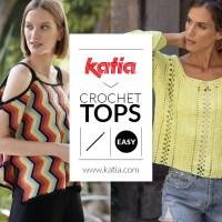 10 tops au crochet pour femmes, aux différents styles, mais tous simples à réaliser
