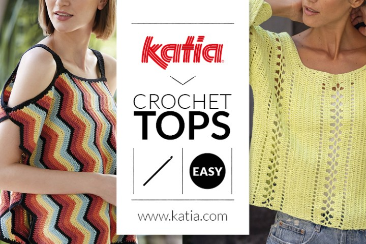 10 tops crochet feat