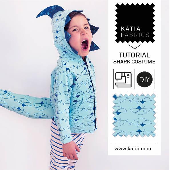déguisement de requin pour le carnaval feat